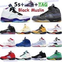 Muslin preto 5 5s sapatos de basquete homens esportes sapatilhas O que o branco X vela ilha verde easter cinza top 3 oregon mens instruters com keychain