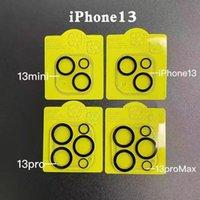 Protetor de câmera 3D para iPhone 13 Pro Max Len vidro temperado capa completa apple móvel 12 série com pacote de varejo