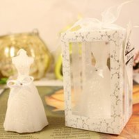 Candles 1 Set Birthday Cake Topper Craft Wedding Candle Romantic Return Gift Painted Bridal Dress Dessert Table Ornaments
