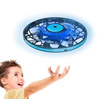Gesture Induction Drones Aircraft mini LED Handheld Adults Children's Hand-operated Small Flying Saucer Drone Toys Suitable Gifts for Boys Girls Aged 6-12 Years