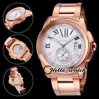 Большая дата 43 мм W7100036 W7100016 W7100036 W7100016 спортивные часы белый циферблат чайка 1713 автоматические мужские часы два тумок розовый золотой корпус стальной браслет Hello_Watch
