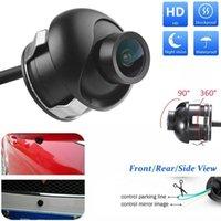 Car Rear View Cameras& Parking Sensors Universal Camera HD Night Vision Auto Backup Reversing Waterproof Degree Adjustable Rearview 360 C N6