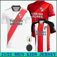 2021 River Plate Pratto Soccer Jersey Martínez Cavenaghi Scocco Quintero 21 22 Placas Casa longe Pérez Futebol Conceito Camisa Kits Kids