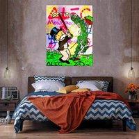 Golf Büyük Yağlıboya Tuval Üzerine Ev Dekor El Sanatları / HD Baskı Duvar Sanatı Resimleri Özelleştirme Kabul Edilebilir 21050603