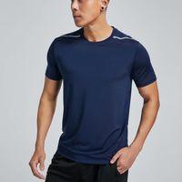 Fitness Shirts Men T Shirts 2019 Quick Dry Solid Sport Gym Running T Shirts Short Sleeve Training Sportswear Men Sport Clothing