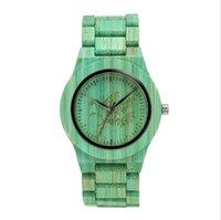 Shifenmei Brand Mens Watch Colorido Bambú Moda Atmósfera Metal Crown Watches Protección de medio ambiente Reloj de pulsera de cuarzo simple