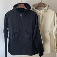 Men's Jackets ST-026 High Quality Compass Embroidery Patch Armband 100% Cotton And Women's Pullover Jacket Thin Hooded