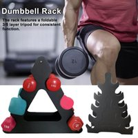 Dumbbells Dumbbell Bracket Triangle Small Leaves Big Different Shapes Fitness Equipment Accessories