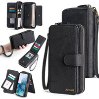 Wallet Leather Phone Case For Huawei P20 P30 P40 Mate20 Mate30 Mate40 Pro Lite Magnetic Purse Business Cell Cases