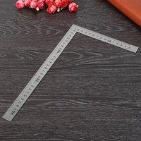 150 × 300 ملليمتر متري مربع الحكام حلقة sizers الفولاذ المقاوم للصدأ 90 درجة زاوية ركن المسطرة