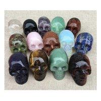 Taş El Sanatları El Zanaat Kafatası Dekor Cadılar Bayramı Aksesuarları Novel Heykel Kafatası Kafa Taş Andara Obsidiyen HH Sanat Mağazası