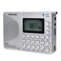 Radio Portable AM FM SW TF Pocket MP3 Digital Recorder Support TF Card USB REC Sleep Time