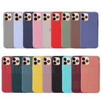사탕 다채로운 울트라 슬림 매트 젖빛 부드러운 TPU 실리콘 고무 커버 전화 케이스 아이폰 13 프로 최대 12 미니 11 xs xr x 8 7 6 6s Plus Se