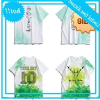 Mens Custom Design Digital Sublimation All Over Printing T Shirt