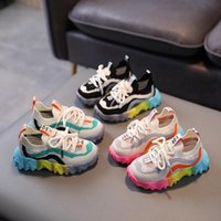 Athletic & Outdoor Children's Shoes Color Sports 1-3-5 Years Old Baby Summer Light Mesh Single Shoe For Boys