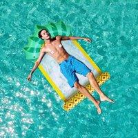 نفخ يطفو أنابيب الصيف الأناناس العائمة صافي السرير أرجوحة المياه المتسكع كرسي حمام السباحة طوي اللعب