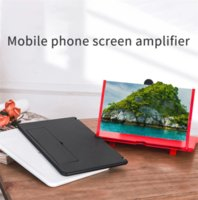 3D HD Anti-Blue Light Video Smartphone Teléfono Móvil Teléfono Toque Pantalla Táctil Amplificador Amplificador Agrandar 4 veces con Soporte