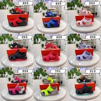 Summer Sandals 2021 Sasual Sneakers Beach Sandal Boys Girl Fashion Style Designer Trainers Outdoor Hole Toddler Shoe Slider Size 22-35 Andd1y_top