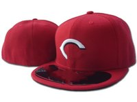 Cincinnati Yaz Reds Mektup Beyzbol Kapaklar Gorras Bones Erkek Kadın Rahat Açık Spor Donatılmış Şapka