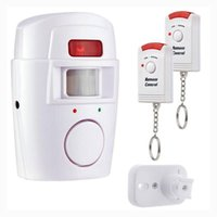 Alarm & Security 2 Remote Controller Wireless Car Home PIR Alert Infrared Sensor System Anti-theft Motion Detector 105DB Siren