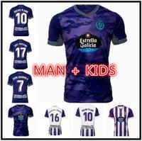 Tailandia Real Valladolid Fútbol Jerseys 21 22 Fede S. Sergi Guardiola Oscar Plano 2021 2022 Hombres + Camisa de Fútbol