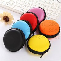 Brand New Colourful Portable Mini Round Portable Coin Wallet Purse Hard Key Earphone Holder Case Bag Versatile sac main LZ0453
