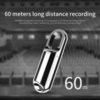 Digital Voice Recorder 8G 16G Mini Keychain Portable Audio Recording Pen USB Flash Drive Dictaphone MP3 Player U Disk 2021