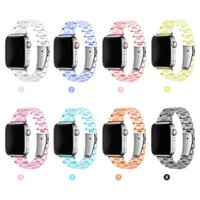 Transparent Apple Watch Band Newest Clear Strap For Iwatch Series 6 SE 5 4 3 2 1 Bracelet 38mm 40mm 42mm 44mm Watchband Accessories