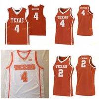 NCAA College Texas Longhorns كرة السلة Jersey 0 Gerald Liddell 5 Royce Hamm Jr 10 Jaxson Hayes 12 Kerwin Root 35 Durant مخصص مخيط