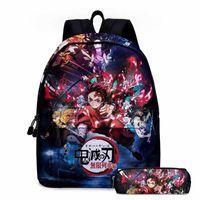Слайер Demon Slayer Schoolbag мультяшный рюкзак мужчина