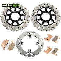 Freins de moto Bielboy RVT 1000 R 00 01 02 03 04 05 06 VTR SP-1 2000 2001 SP-2 2002-2006 RC51 Disques de frein arrière avant Rotors Disques Pads