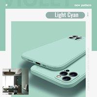 Cell Phone Cases Capa de silicone líquido para celular, original, for iphone 12 pro, 12, mini, x, xr, xs max, 7, 8, 6, 6s plus, se 2, 2020, 11 promax