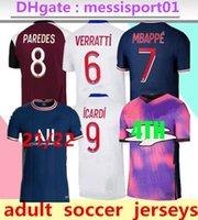 2021/22 Paris Futbol Forması 2021 2022 Formalar Gömlek Mbappe Icardi Futbol Gömlek Survetement Maillot de Foot Customiz