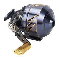 Baitcasting Reels All-metal Fish Shooter Bladder Slings Fishing Reel Set Portable Accessories Hand GuardFishing Wheel