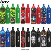 Authentic IJOY Lio Boom Disposable Vape Pen 3500 Puffs e cigarettes 1400mAh Battery 5%ni 10ml Pod vs GunnPod aokit cube 2 randm bang xxl geek bar