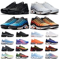 air max tn plus tn plus zapatilla de deporte ultra zapato 3.0 4.0 Triple Negro blanco CNY oreo Primeknit mujer zapatilla hombre diseñador deportes calcetín dardo
