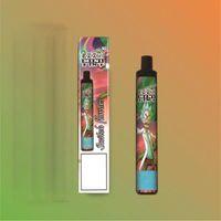 Ezzy Mini Vapes Super 2 en 1 Diseño Vape desechable 900mAh Batería 8.0ml POD 2000 Puffs Ezzy Mini 2in1 Vapes Cigarrillo electrónico