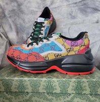 Klassik Qualitätsleder Männer Frauen Designer Schuhe Sneakerss Tylist Lates Lace Up Sneaker Gummi Niedrige Top Plattform Schuh Home011 01