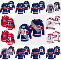 Montreal Canadiens 2021 Reverse Retro Hockey Jerseys Jonathan Drouin Chris Chelios Jesperi Kotkaniemi Tomas TATAR Jeff Petry Personalizzato Cucito