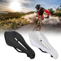 Saddles de vélo 1PC MTB Road Selle de vélo EC90 Cuir artificiel confortable Coussin de nez courte Coussin universel Composants de cyclisme ABS