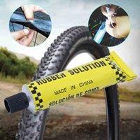 자동차 오토바이 자전거 타이어 타이어 수리 접착제 자전거 내부 튜브 펑크 수리 시멘트 고무 콜드 패치 10g / pcs
