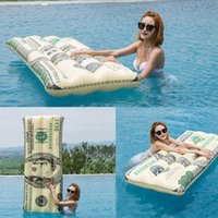 Inflatable Pool Float Water Hammock Air Mattress Lounger Dollar Appearance Multi-Purpose Chair Floating Bed & Accessories