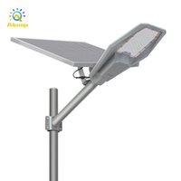 Super Bright 400W 48000mAh Lâmpada Solar Sensor impermeável Alumínio LED Luz de rua para o pátio do parque de estrada