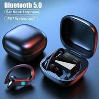 TWS Bluetooth Słuchawki Bezprzewodowe Słuchawki Hałasu Anulowanie Sport Wodoodporny Zestaw Słuchawkowy 9D Stereo Bezprzewodowe Earbuds z mikrofonem