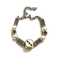 cro sin Cherieniu dice Bracelet men's and women's trend pearl niche design sense high street accessoriesFinished on July