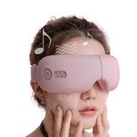 Bluetooth Smart Vibration Eye Massagegerät Augenpflegemittel Heiße Kompressbrille Instrument Musik Faltbarer Augenschutz