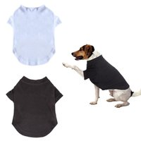 Dog Apparel Arrival Pet Puppy Clothes Shirts Tee Sleeve Design T Tank Tees Top For Summer Small Medium Large Dogs