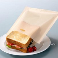 베이킹 도구 비 스틱 재사용 가능한 내열성 토스터 가방 샌드위치 튀김 난방 가방 주방 액세서리 EWB928