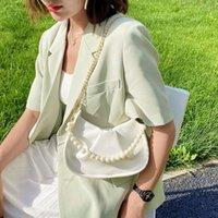 Kalın zincir vintage messenger çanta kadınlar için omuz çantası bayan moda baguette çanta lüks marka kadın çanta ve cüzdanlar