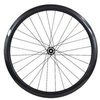 عجلات الدراجة 38 ملليمتر أنبوبي 745 جرام 25 ملليمتر القرص دراجة عجلة CT31 الخلفي 142x12mm مستقيم سحب قفل المركزي 28H الكربون الفرامل 700C
